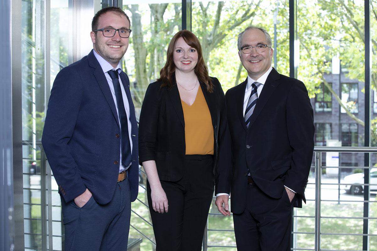 V. L. N. R. NN.; Nicole Werhausen, Vorstand Werhausen AG; Jörn-Peter Riepe, Spratte Riepe Pickard.